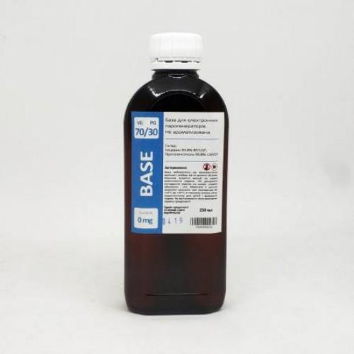 Жидкость-база для электронных сигарет 0 мг 70/30 250 мл