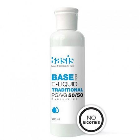 База Basis Traditional PG/VG 50/50 200 мл (0 мг/мл)
