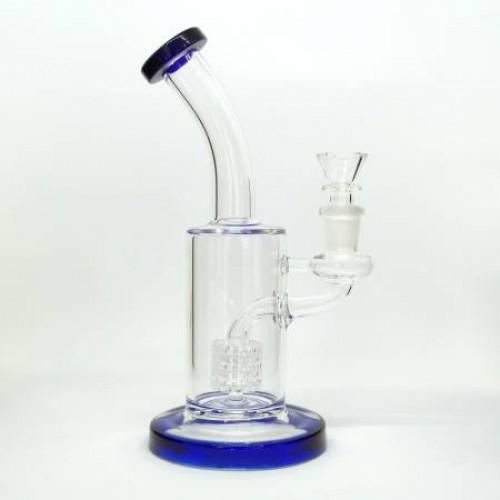 Бонг стеклянный GR502 - синий