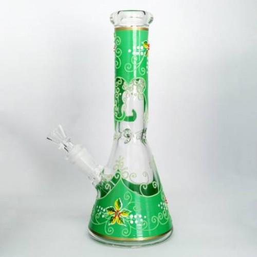 Бонг стеклянный HD92 - зеленый