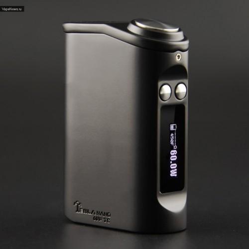Мод Tesla nano 60W TC Mod Black