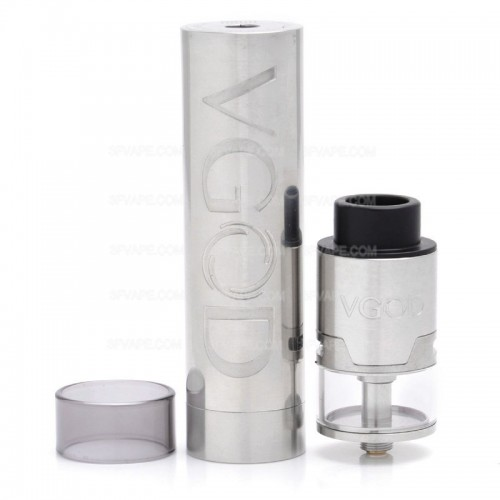 Мехмод VGOD PRO Mech RDTA Kit Silver (High copy)