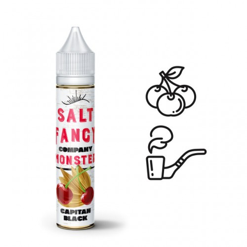 Fancy Monster Salt Capitan Black