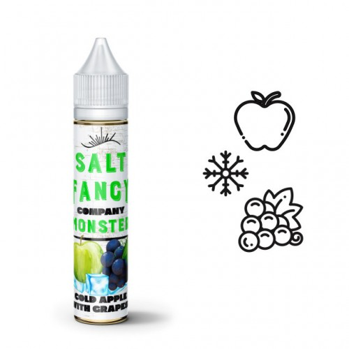 Fancy Monster Salt Cold Apple with Grape