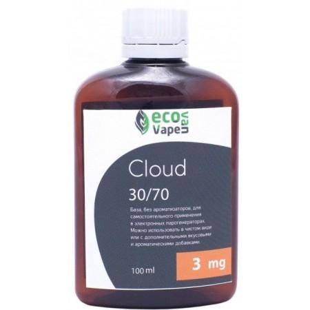 Жидкость-база для электронных сигарет Eco Van Vape Cloud 3 мг 30/70 100 мл