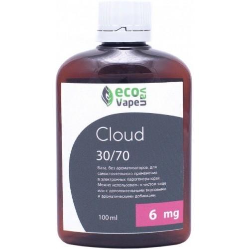 Жидкость-база для электронных сигарет Eco Van Vape Cloud 6 мг 30/70 100 мл