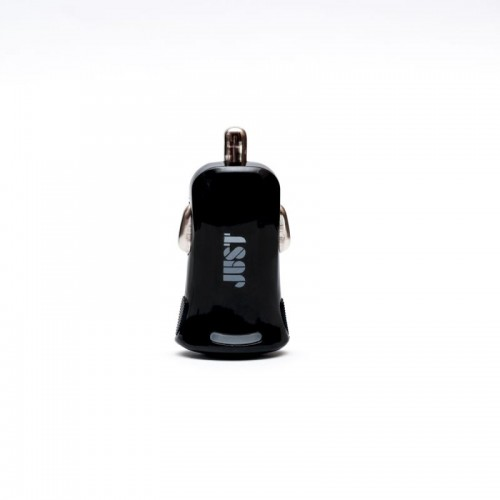 JUST Simple USB Car Charger (1A/1USB, 5W) Black