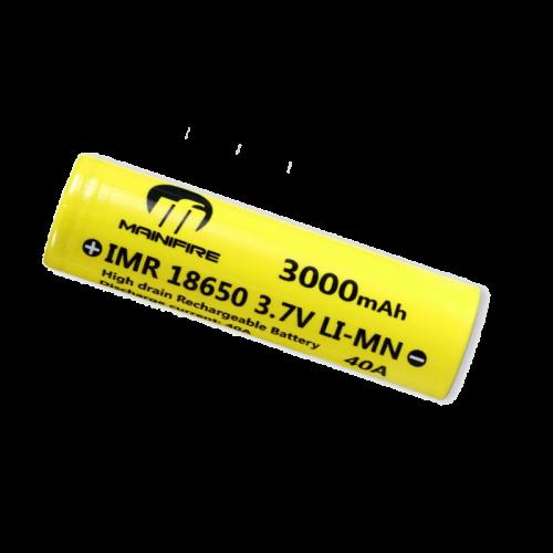Mainifire 18650 3000 мАч mah (до 40А)