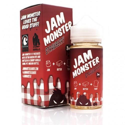 Jam Monster Strawberry 3 мг 100 мл